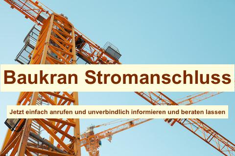 Baustromverteiler für Kran Berlin